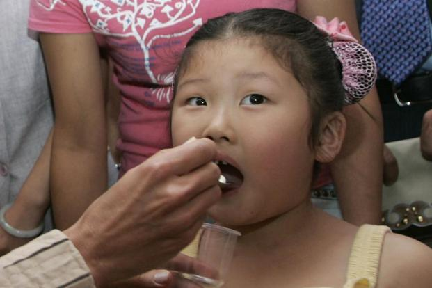 China technically eradicated polio in 2000, but there have been outbreaks of the disease in the country since. Reuters